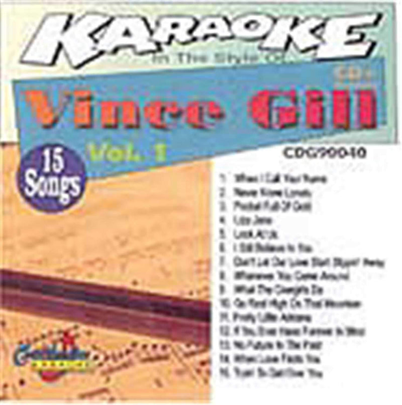 Chartbuster Karaoke Pro Artist Vince Gill Vol 1 - PSSL ProSound and Stage Lighting