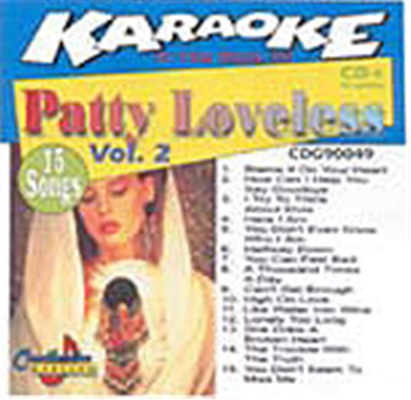 Chartbuster Karaoke Pro Artist Patty Loveless V 2 - PSSL ProSound and Stage Lighting