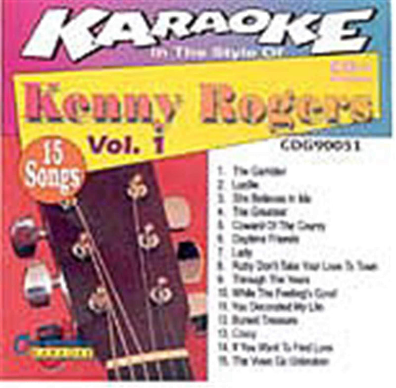 Chartbuster Karaoke Pro Artist Kenny Rogers Vol 1 - PSSL ProSound and Stage Lighting