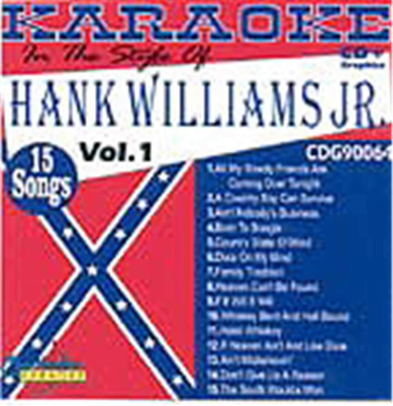 Chartbuster Karaoke Pro Artist Hank Williams Jr V1 - ProSound and Stage Lighting