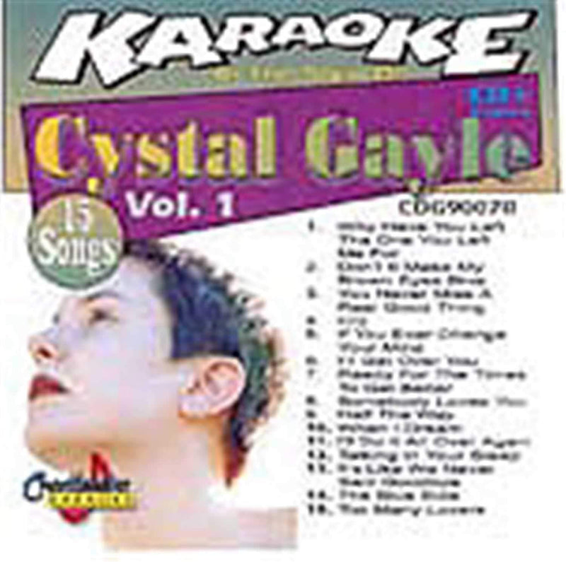 Chartbuster Karaoke Pro Artist Crystal Gayle - PSSL ProSound and Stage Lighting
