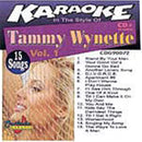 Chartbuster Karaoke Pro Artist Tammy Wynette - ProSound and Stage Lighting