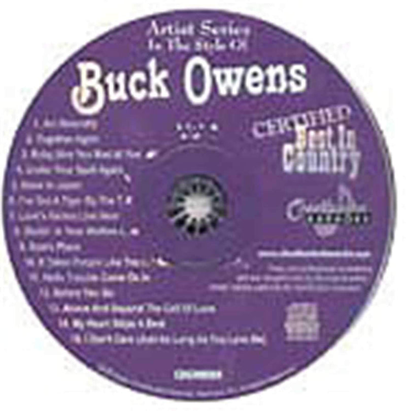 Chartbuster Karaoke Pro Artist Buck Owens - PSSL ProSound and Stage Lighting