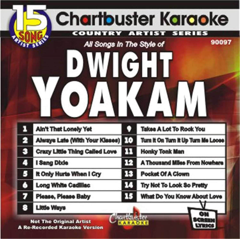 Chartbuster Karaoke Artist Dwight Yoakam - PSSL ProSound and Stage Lighting