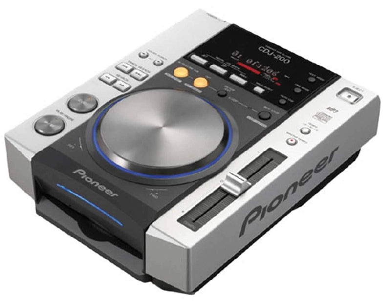 Pioneer CDJ 200 Table Top CD Player Mp3 - PSSL ProSound and Stage Lighting