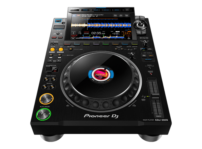 Pioneer CDJ-3000 Professional DJ Multiplayer w/ 9-Inch Touch Screen - PSSL ProSound and Stage Lighting