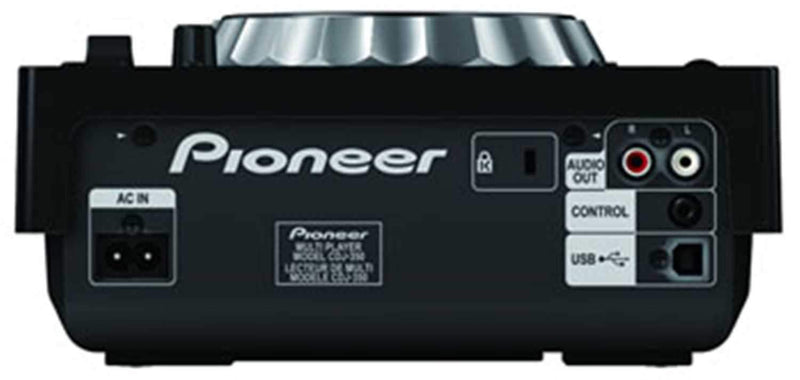 Pioneer CDJ-350 Table Top Multi Media Player - ProSound and Stage Lighting
