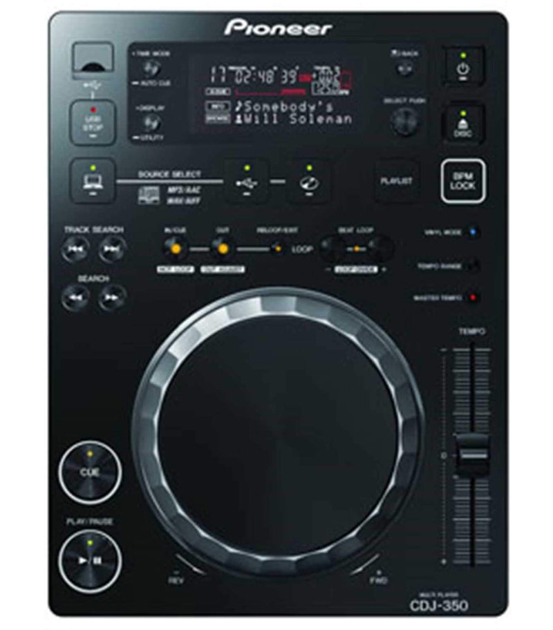 Pioneer CDJ-350 Table Top Multi Media Player - PSSL ProSound and Stage Lighting