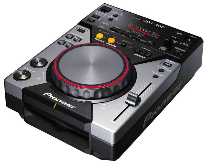 PIONEER CDJ-400 TABLETOP CD/MP3/USB PLAYER - ProSound and Stage Lighting