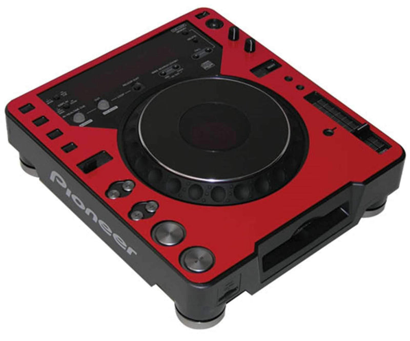 Odyssey AFPCDJ1000RED Red Faceplate 4 CDJ-1000 - PSSL ProSound and Stage Lighting