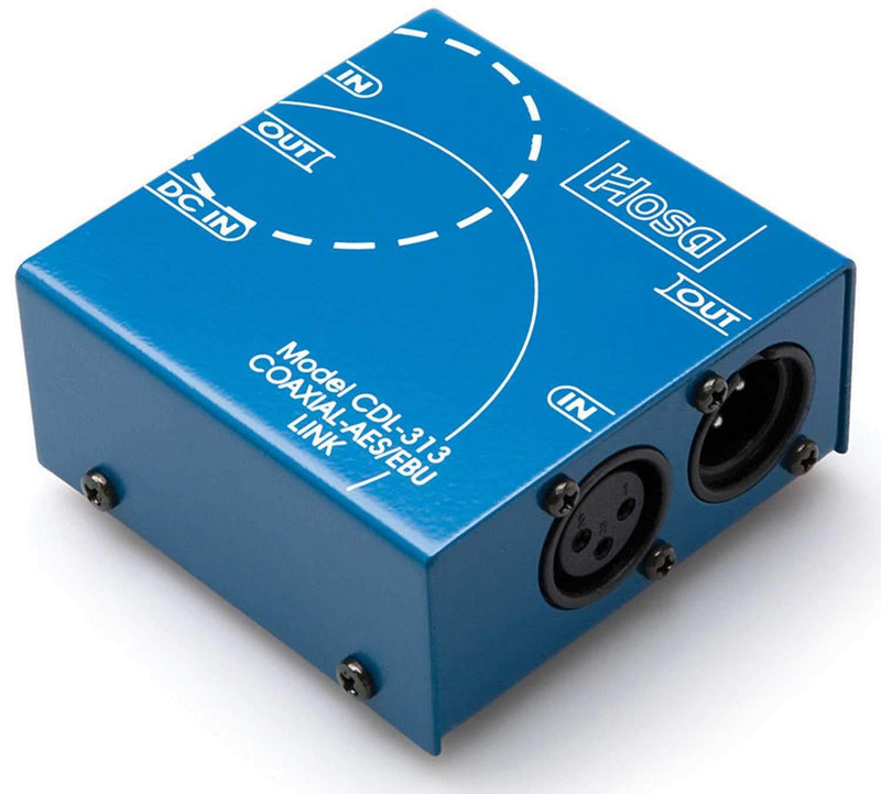 Hosa Digital Audio Interface SPDIF Coax to AES/EBU - PSSL ProSound and Stage Lighting