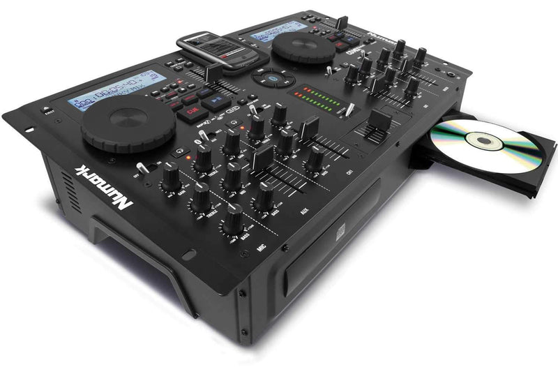 Numark CDMIX Bluetooth Dual DJ CD & MP3 Player - PSSL ProSound and Stage Lighting