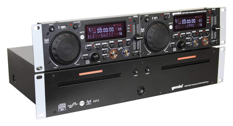 Gemini CDMP-2600 Dual CD/MP3/USB Player - PSSL ProSound and Stage Lighting