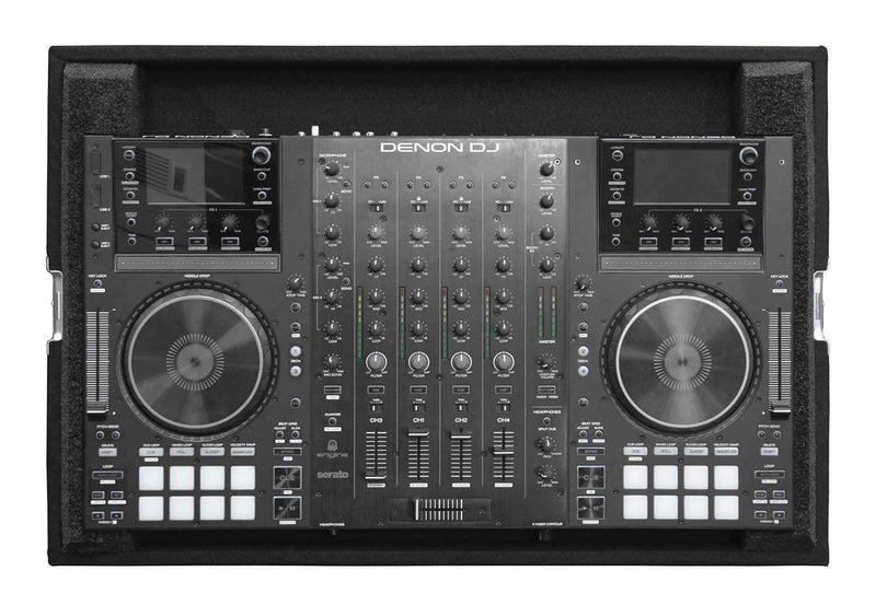 Odyssey CDNMCX8000 Carpeted Case for Denon MCX8000 DJ Controller - PSSL ProSound and Stage Lighting