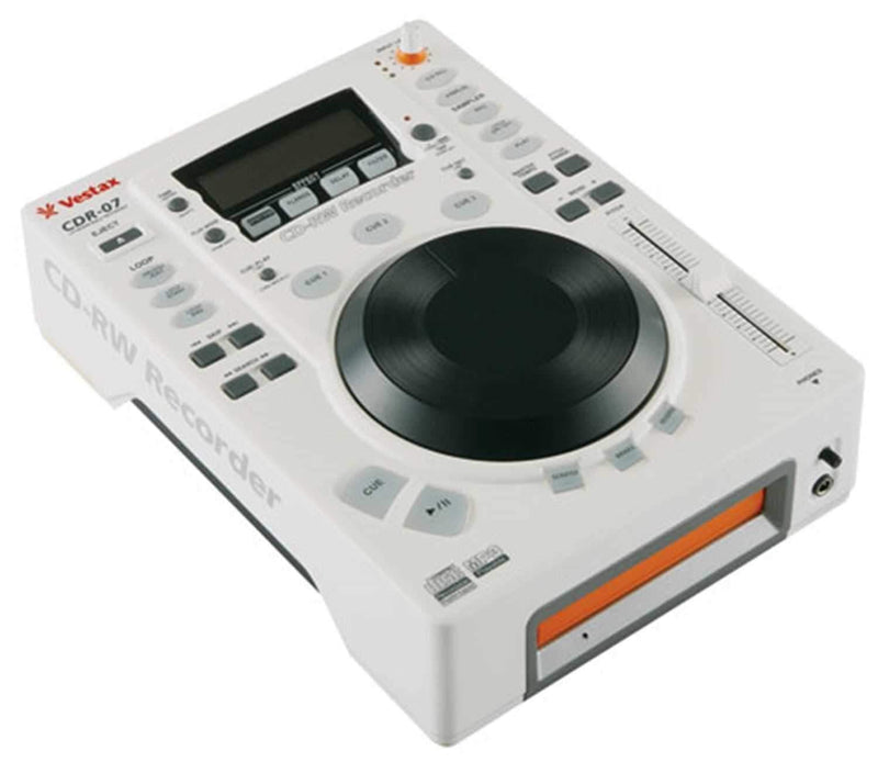 Vestax CDR-07 Table Top CD Player With CDR - ProSound and Stage Lighting