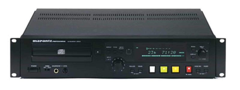 Marantz CDR-632 CD Recorder with MP3 Playback - ProSound and Stage Lighting