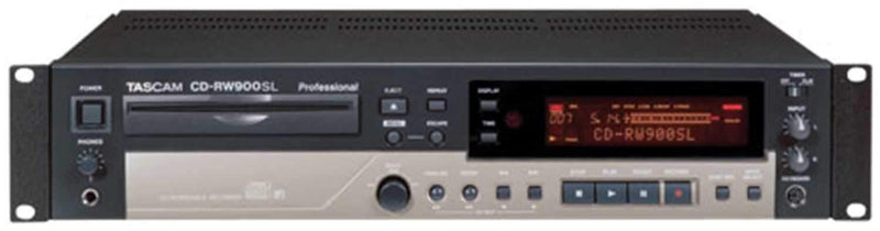 Tascam CDRW-900SL Slot Load CD Rec with MP3 Playback - PSSL ProSound and Stage Lighting