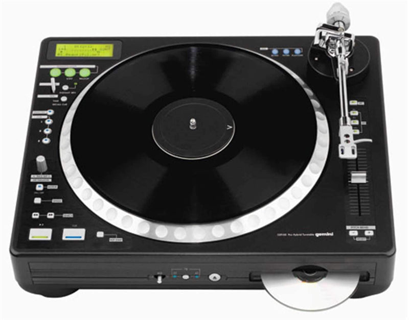 Gemini CDT-05 Hybrid CD/MP3 Turntable Combo Player - ProSound and Stage Lighting