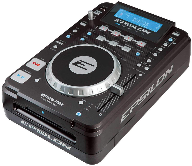 Epsilon CDUSB-7000 Multi-Format CD/MP3/USB Player - ProSound and Stage Lighting