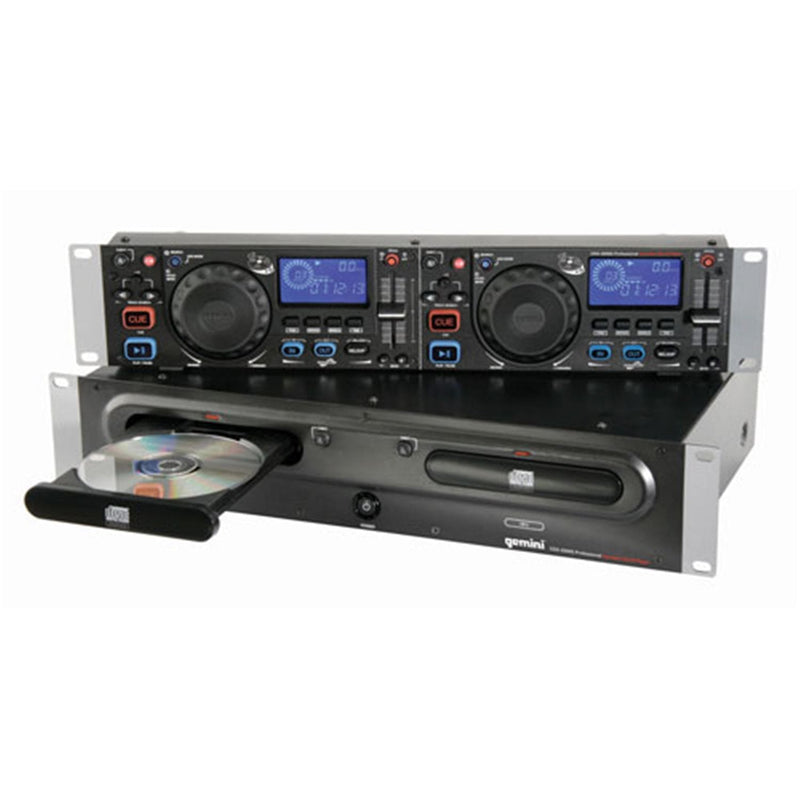 Gemini CDX2500G Dual Multi-Format Karaoke Player - PSSL ProSound and Stage Lighting
