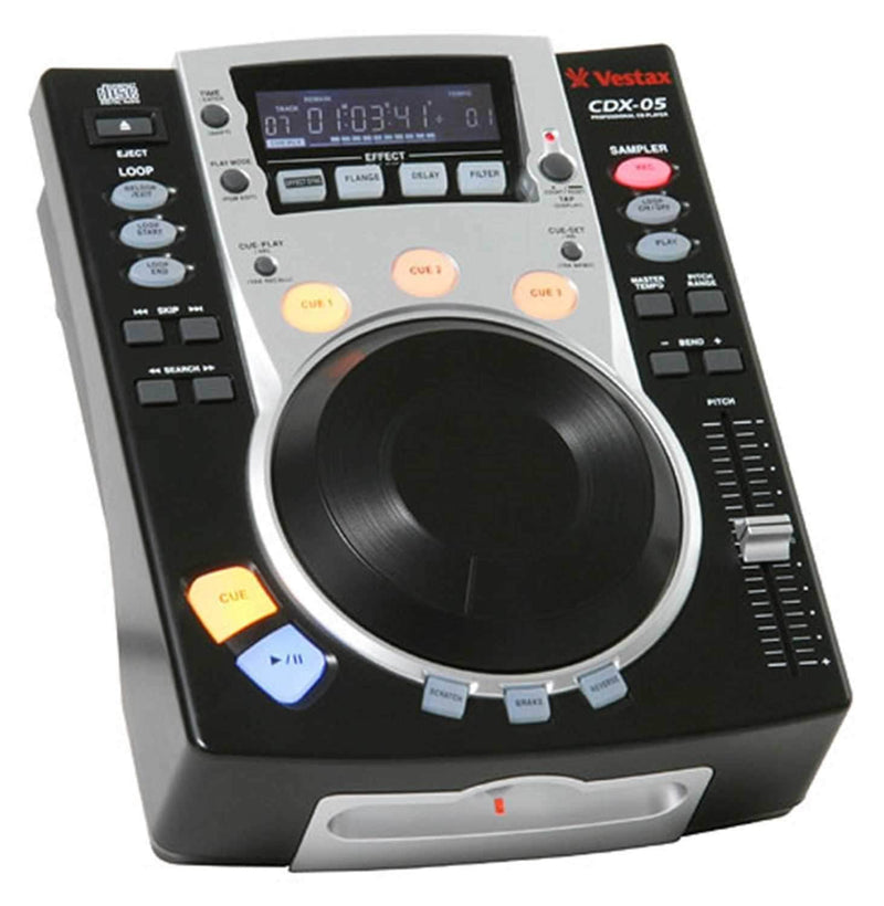 Vestax CDX05 Table Top CD Player - PSSL ProSound and Stage Lighting