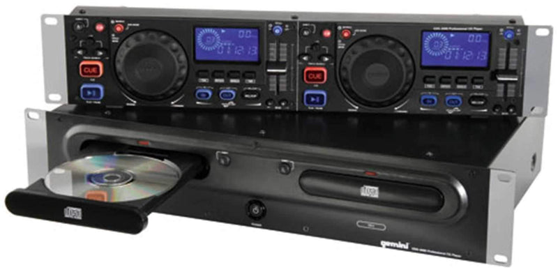 Gemini CDX2400 Dual Rack CD Player - PSSL ProSound and Stage Lighting
