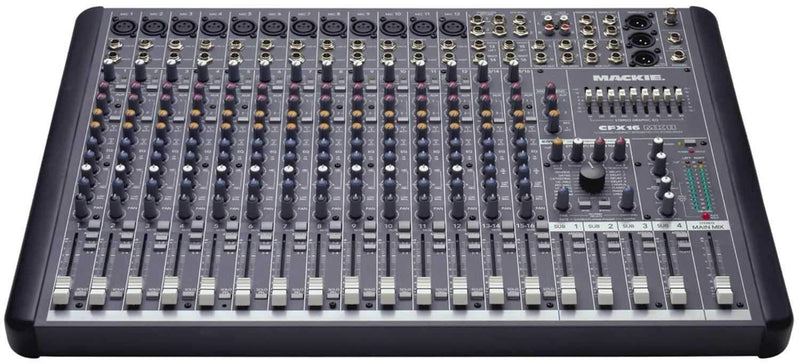 Mackie CFX16MKII 16 Channel Live Sound Mixer with Fx - PSSL ProSound and Stage Lighting