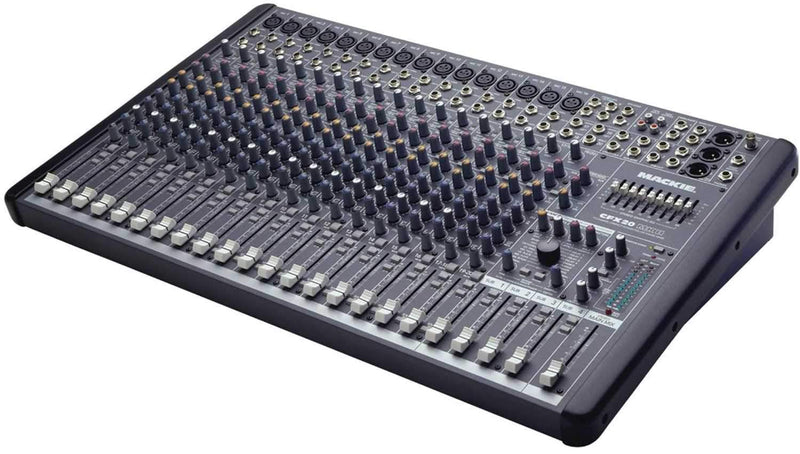 Mackie CFX20 MKII 20 Ch Live Sound Mixer With Fx - PSSL ProSound and Stage Lighting
