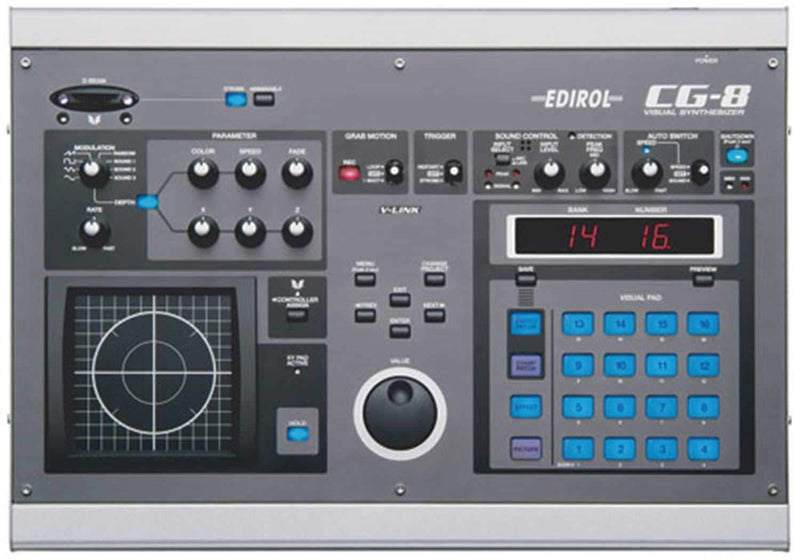 Edirol CG8 Video Synthesizer - PSSL ProSound and Stage Lighting