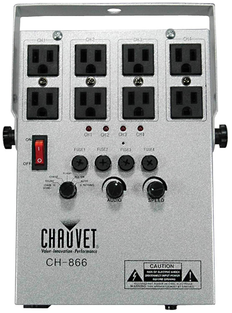 Chauvet CH-866 4 Channel Sound Activated Contoller - PSSL ProSound and Stage Lighting