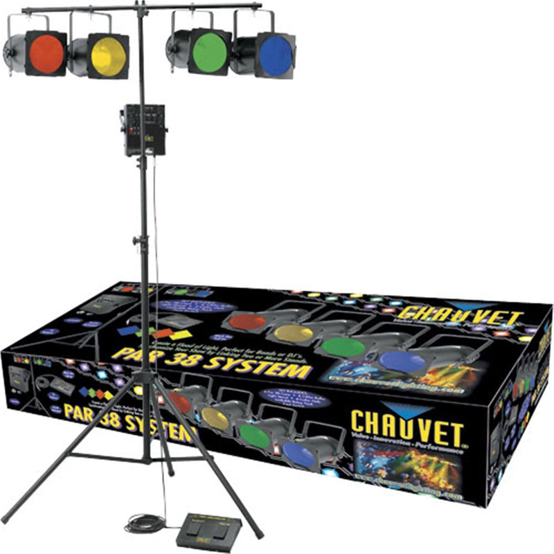 Chauvet PAR 38 Package with Stand And Controller - PSSL ProSound and Stage Lighting