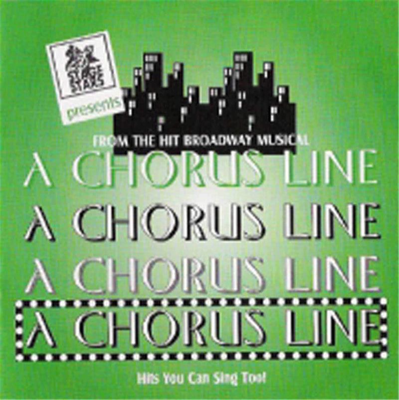 Stage Stars Chorus Line 11 Song Broadway Show CD Plus G - PSSL ProSound and Stage Lighting