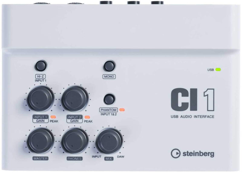 Steinberg CI-1 USB Studio Audio Interface - PSSL ProSound and Stage Lighting