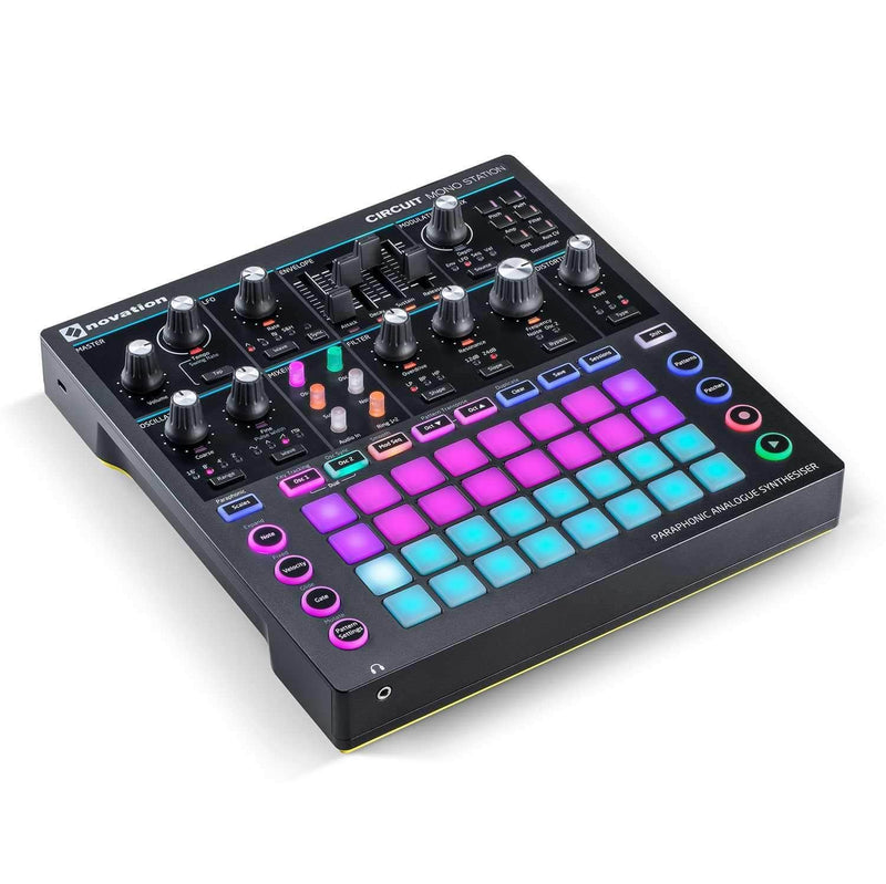 Novation Circuit Mono Station Paraphonic Analogue Synthesizer - PSSL ProSound and Stage Lighting
