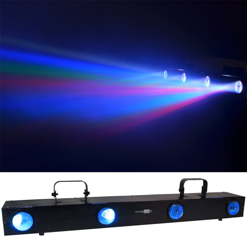 TechnoLEDgy Cirrus 4 256x RGB DMX LED Effect Light - PSSL ProSound and Stage Lighting
