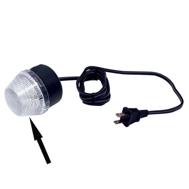 American DJ Red Dome For City Flash Strobe Light - PSSL ProSound and Stage Lighting