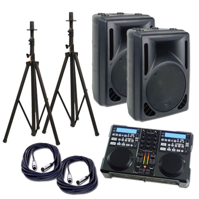 American Audio CK-1000-MP3 Complete DJ System - PSSL ProSound and Stage Lighting