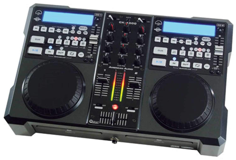 American Audio CK-1000 CD/Mixer COMBO with Scratch FX - ProSound and Stage Lighting
