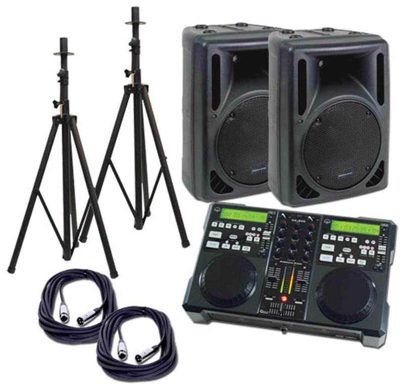 American Audio CK-800 Complete DJ System - PSSL ProSound and Stage Lighting