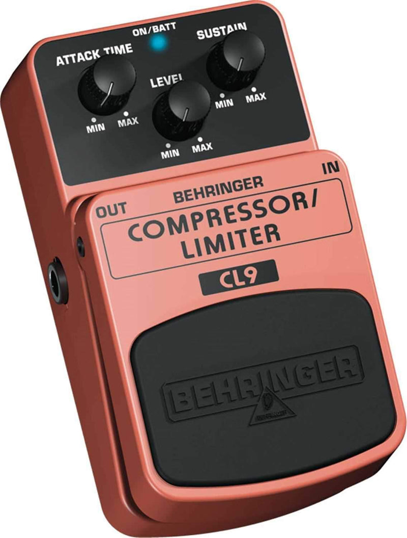 Behringer CL9 Classic Comp/Limiter Effects Pedal - PSSL ProSound and Stage Lighting