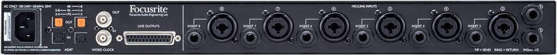Focusrite Clarett Octopre AD/DA Converter & Preamp - PSSL ProSound and Stage Lighting