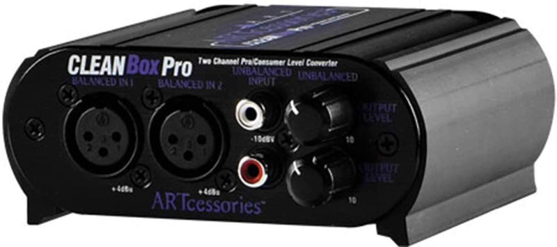 ART CleanBoxPro 2-Way Stereo Converter - PSSL ProSound and Stage Lighting