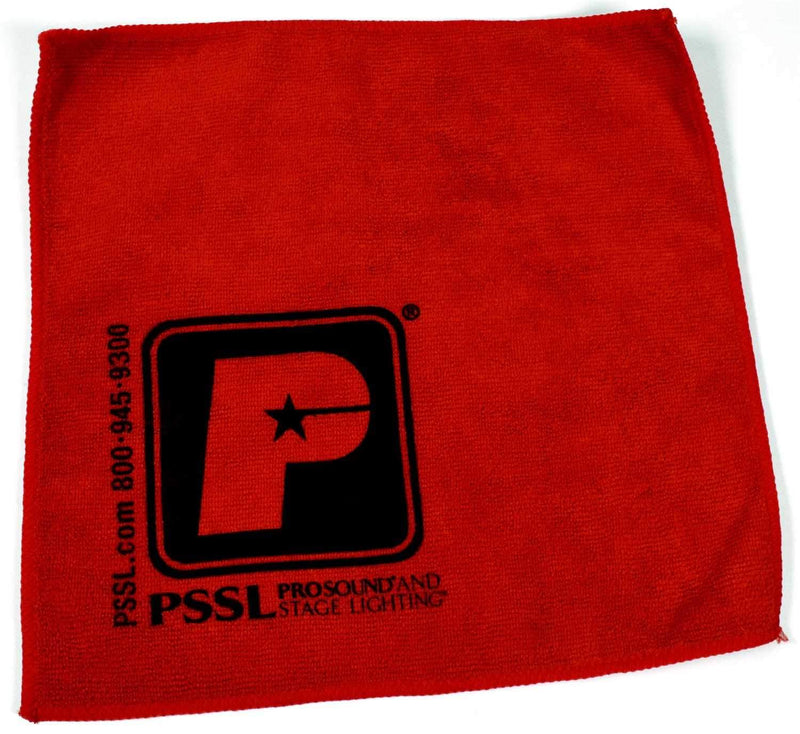 PSSL Microfiber Cleaning Cloth for Light Fixtures - PSSL ProSound and Stage Lighting