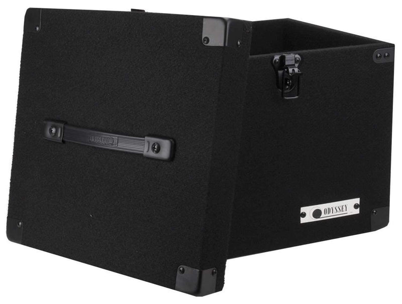 Odyssey CLP-090-E Carpeted Case for Vinyl LP Records - Fits 90 LP's - PSSL ProSound and Stage Lighting