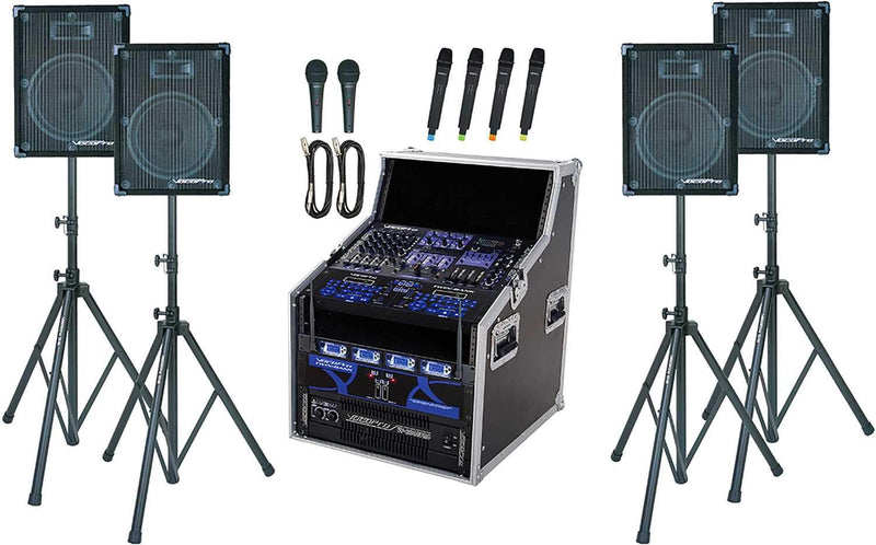 VocoPro Club-HD9500 2000w Professional Club System - ProSound and Stage Lighting