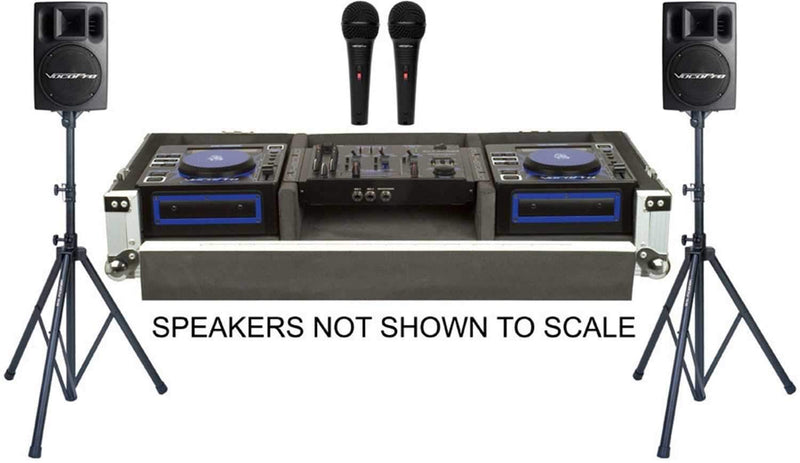 VocoPro CLUB-MAN-PRO Pro KJ System with Speakers - PSSL ProSound and Stage Lighting