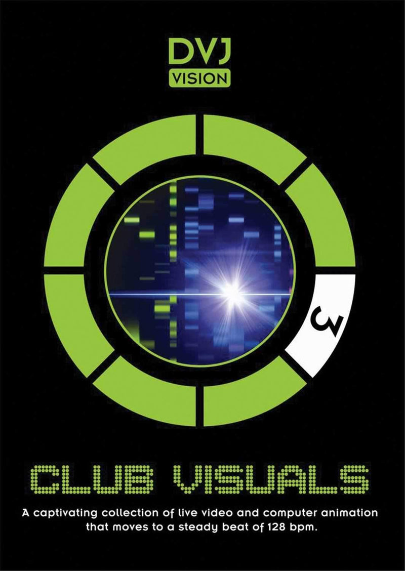 DVJ Vision Club Visuals 3 Visual Loops DVD - PSSL ProSound and Stage Lighting