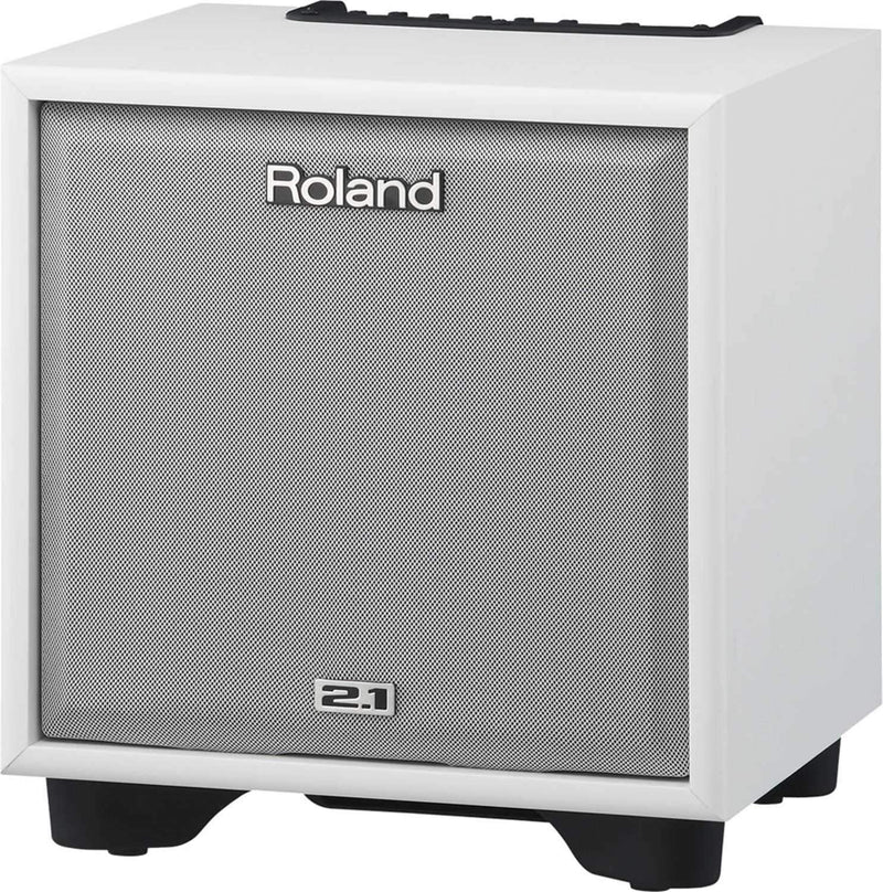 Roland CM-110-WH 100W 2.1 Monitor System (White) - PSSL ProSound and Stage Lighting