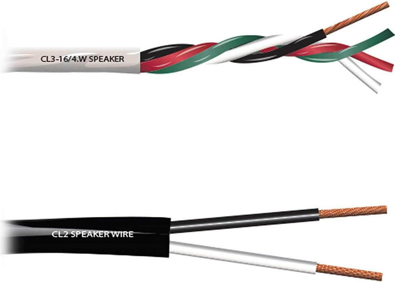 Rapco 12GA 4 Conductor Install Speaker Cable 500-Feet - PSSL ProSound and Stage Lighting