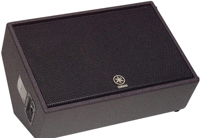 Yamaha CM15V 15 2-Way Textured Coated Floor Mon - PSSL ProSound and Stage Lighting
